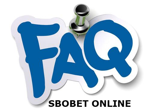 FAQ agen resmi judi Sbobet online