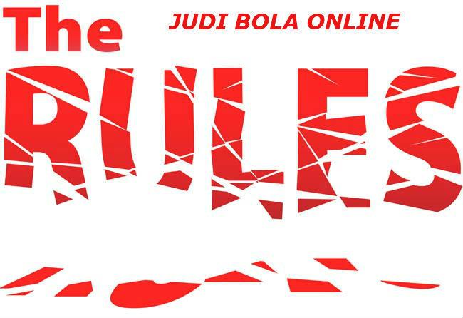 peraturan judi bola online